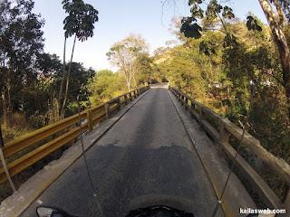 Ponte de um veículo só.