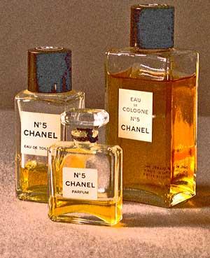 Dating Chanel No. 5 Bottles: