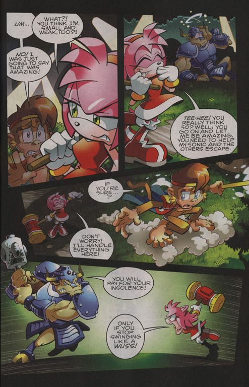 Read online Sonic The Hedgehog comic -  Issue #208 - 21