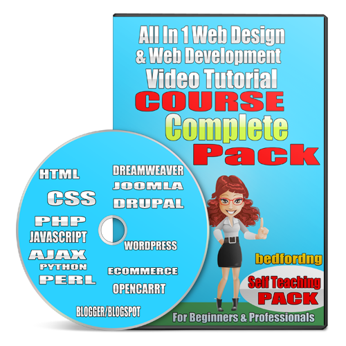 Website Design And Web Development Video Tutorial