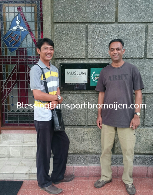 Mr.Priyoo (India). Transport for Bromo day trip and City tour