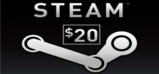 Steam Wallet 20$ grátis