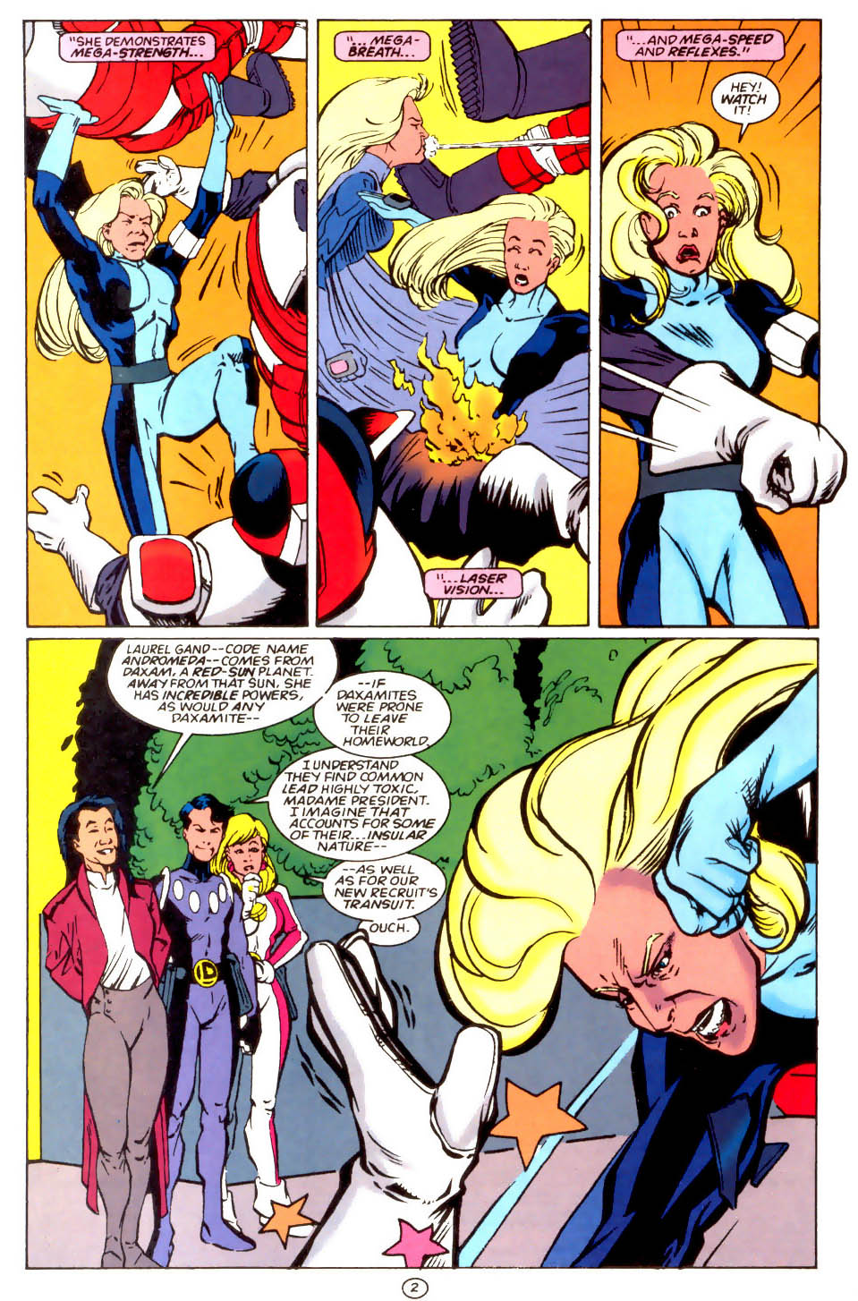Legion of Super-Heroes (1989) 66 Page 2