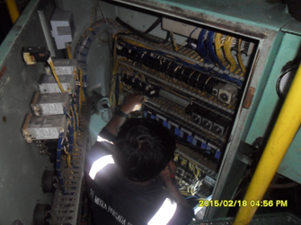MT MTG 4 Aux Contactor Circulation Pump HTB Control Panel Check wiring