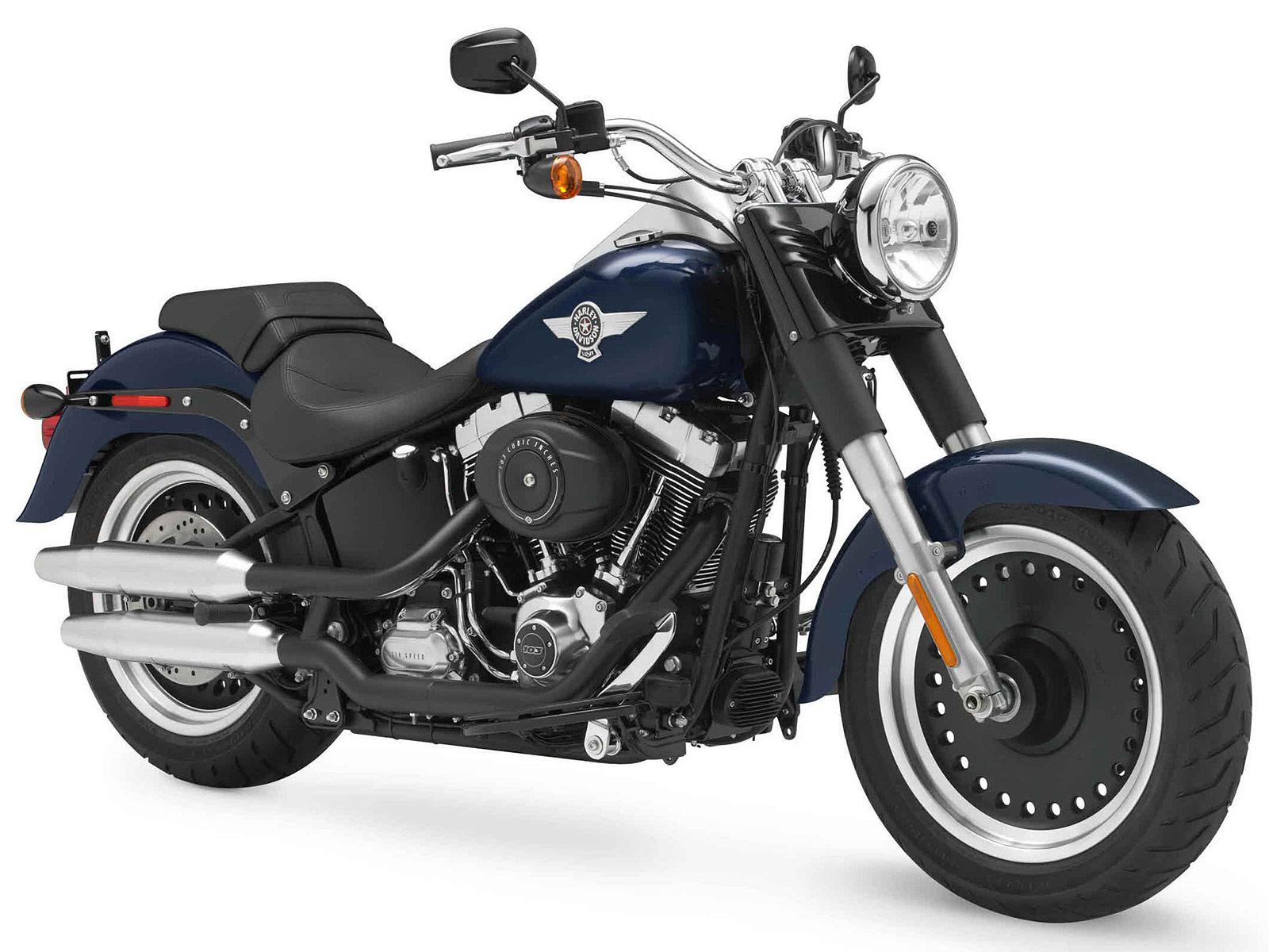 Harley Davidson 2012: 2012 HD FLSTFB Softail Fat Boy Lo Insurance Information