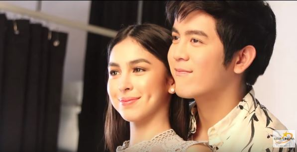 Joshua Garcia as Joko and Julia Barretto as Zoe in 'I Love You, Hater'/Star Cinema