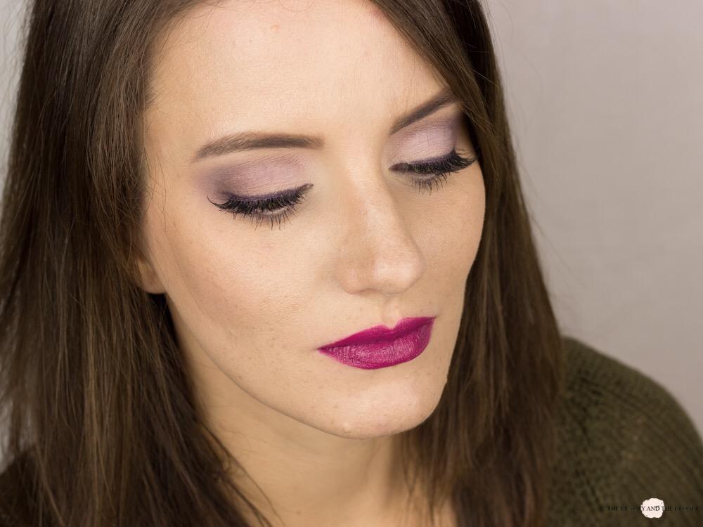 Lorac Pro Palette eine Palette vier Looks soft lilac look eyeshadow amu makeup