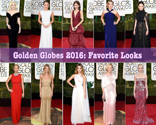 Golden Globes 2016: Favorite Looks