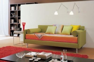 cama ahorra espacio