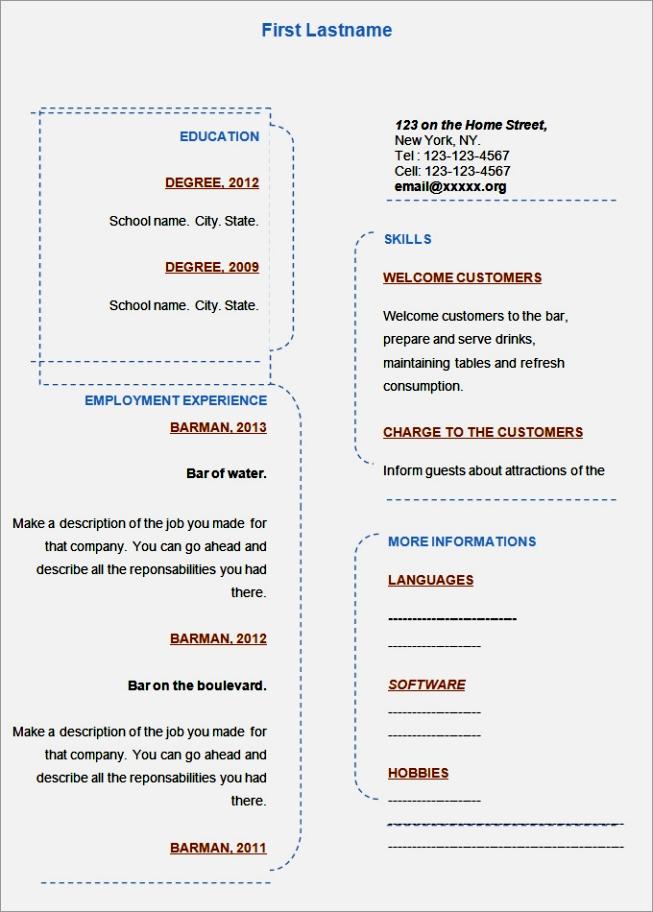 resume template bpo resume template blank academic resume template