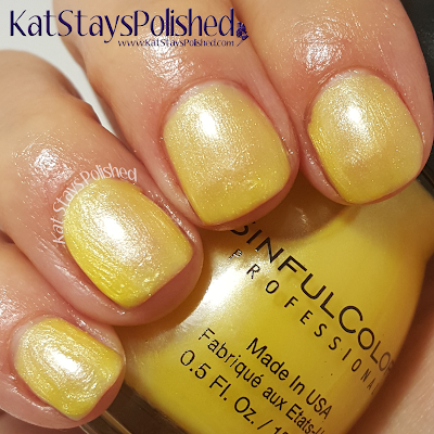 SinfulColors - A Class Act - Burst of Fresh Flair | Kat Stays Polished