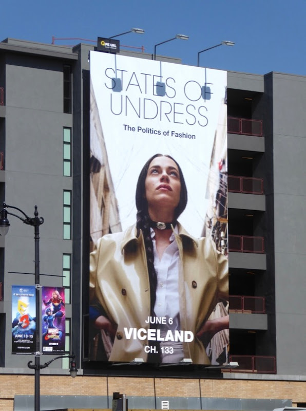 States of Undress season 2 billboard