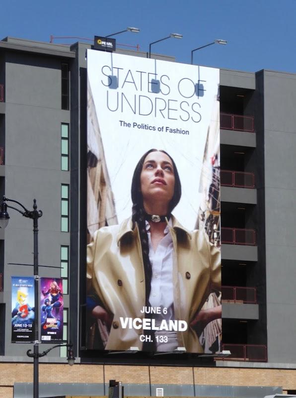 States of Undress season 2 billboard