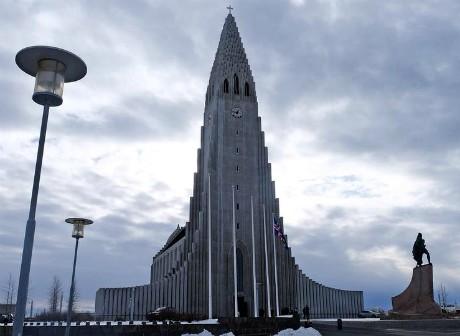 Hallgrímskirkja chiesa Reykjavik