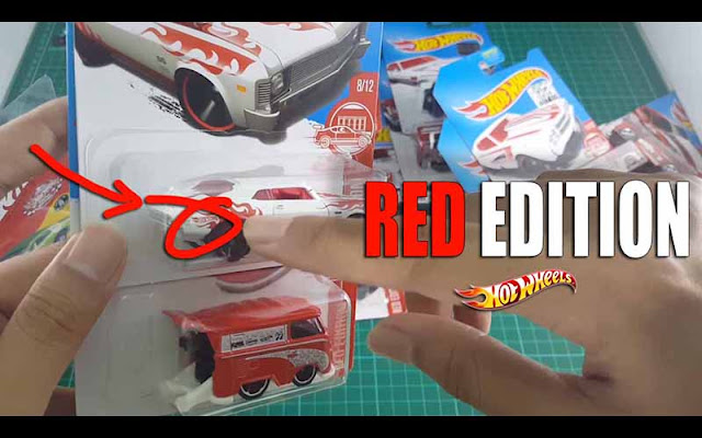 Hot Wheels Red Edition Hot wheels indoneisa