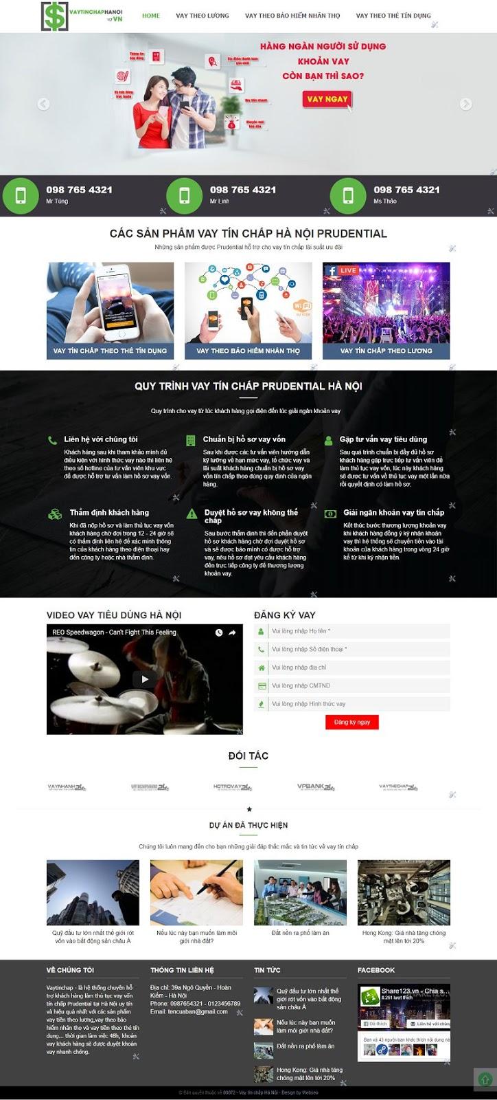 Mẫu template blogspot giới thiệu dịch vụ sản phẩm 2018 đẹp, chuẩn seo 72