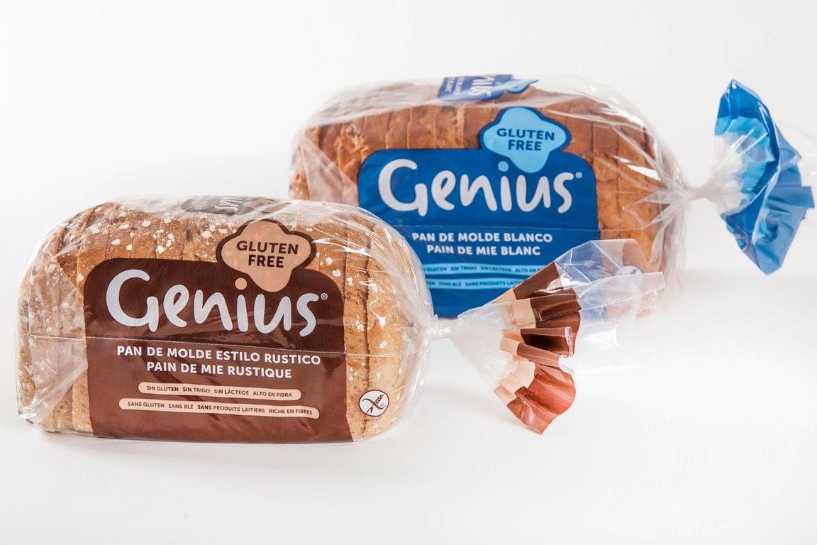 celicosas genius estrena un nuevo pan de molde sin gluten. Black Bedroom Furniture Sets. Home Design Ideas