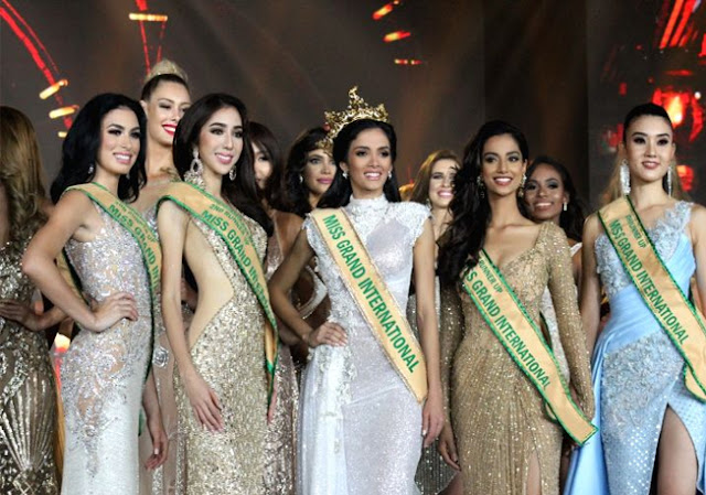 Miss Grand International 2018 Top 5 Winners