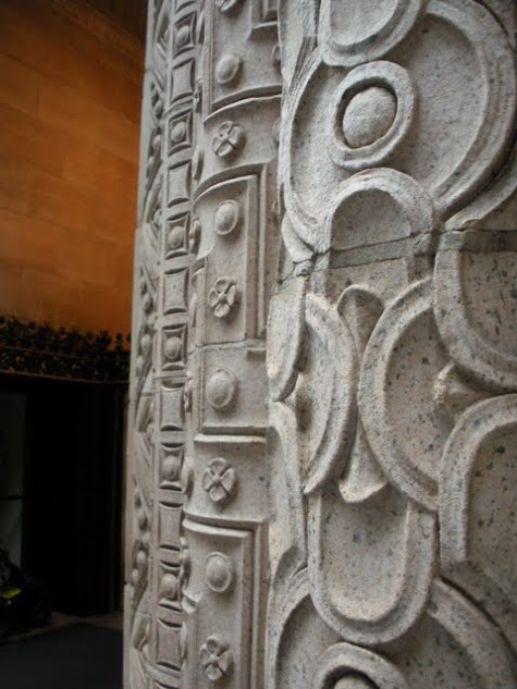 San Francisco City Guides Art Deco Walking Tour - Columns Outside the Hunter-Dulin Building