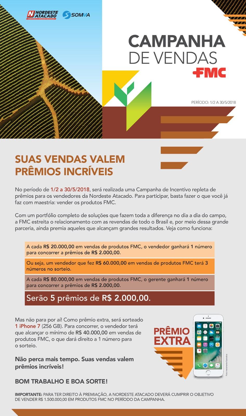 Fmc Campanha Incentivo De Vendas