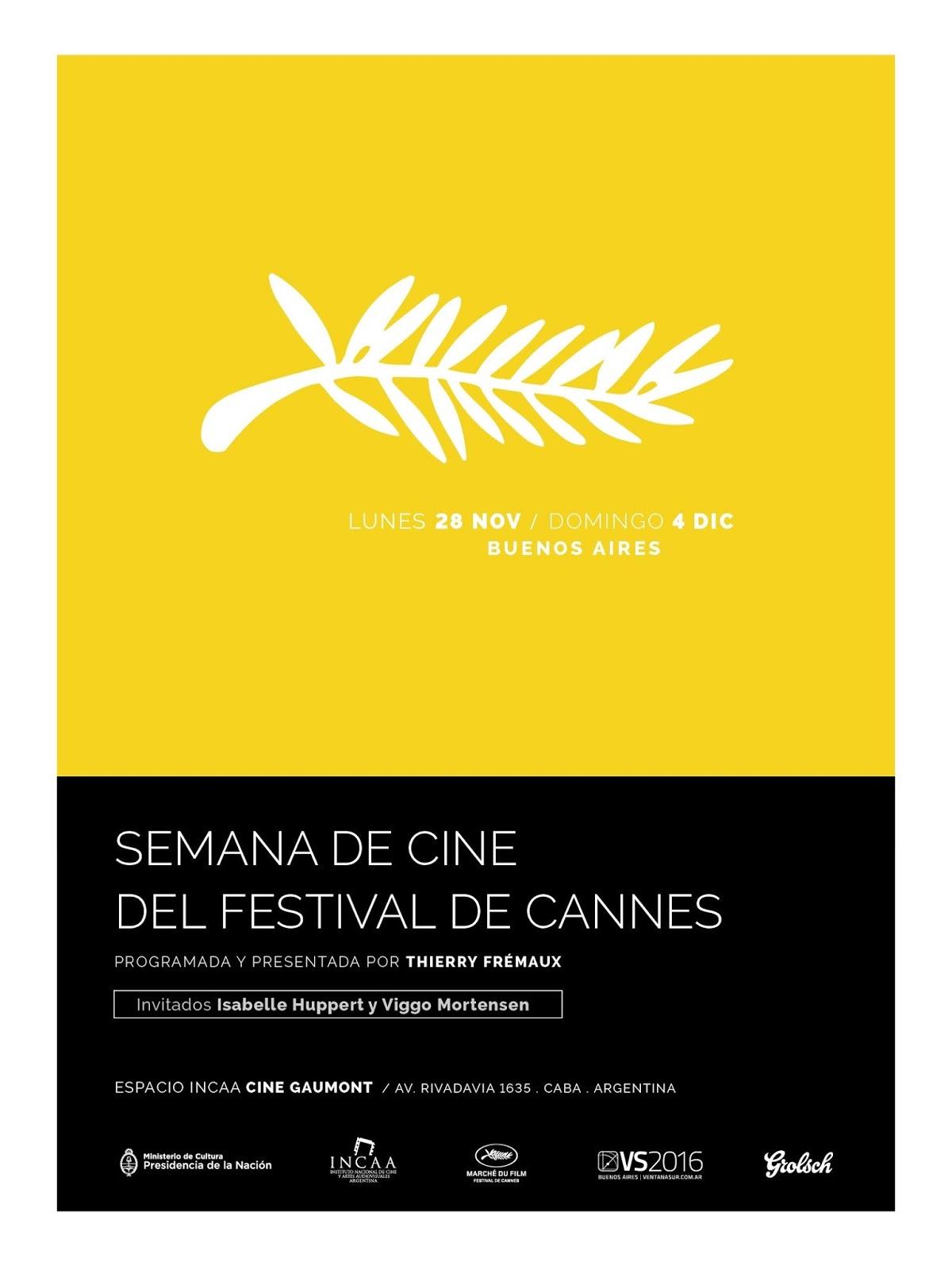 Noviembre comienza la semana de cine del festival de for Semana del diseno buenos aires