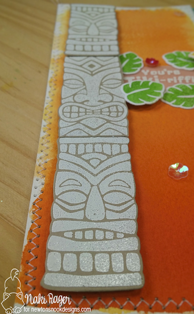 Newton's Nook Designs Tiki Time Set - Naki Rager
