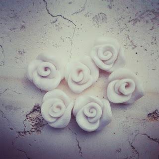 orecchini rose fimo alberta bijoux