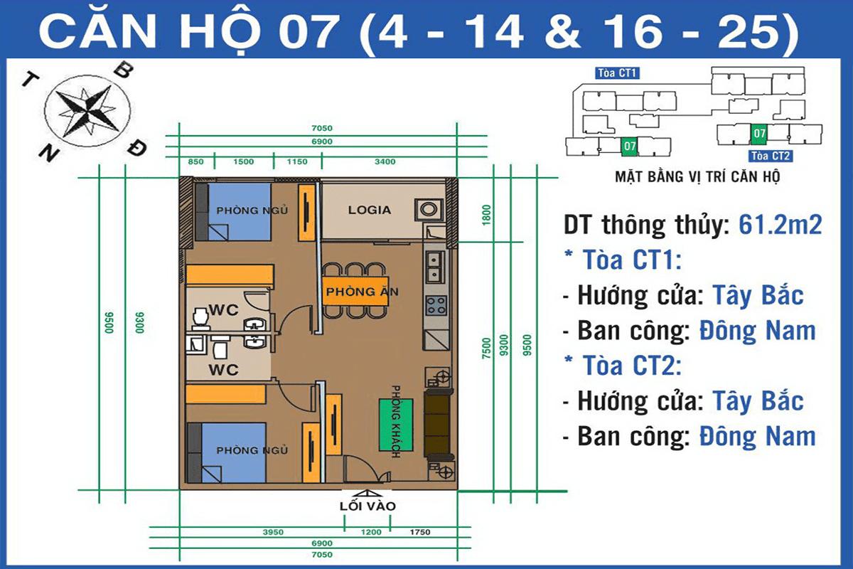 Căn 07 dự án Ban Cơ Yếu Chính Phủ Lê Văn Lương