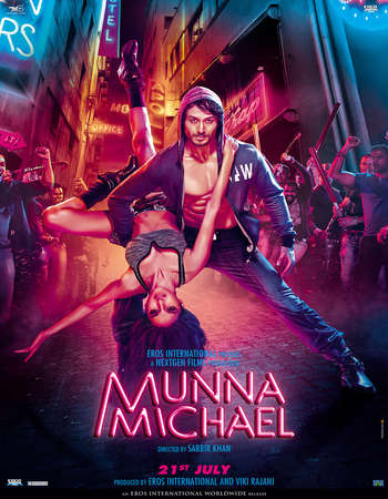Munna Michael 2017 Full Hindi Movie DVDRip Free Download