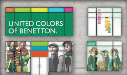 Em 1969, a expansão da BENETTON levou a marca a abrir uma loja na Rua  Bonaparte, em Paris, onde, graças ao estilo e às cores das roupas  (pulôveres ... dc0ab1844e