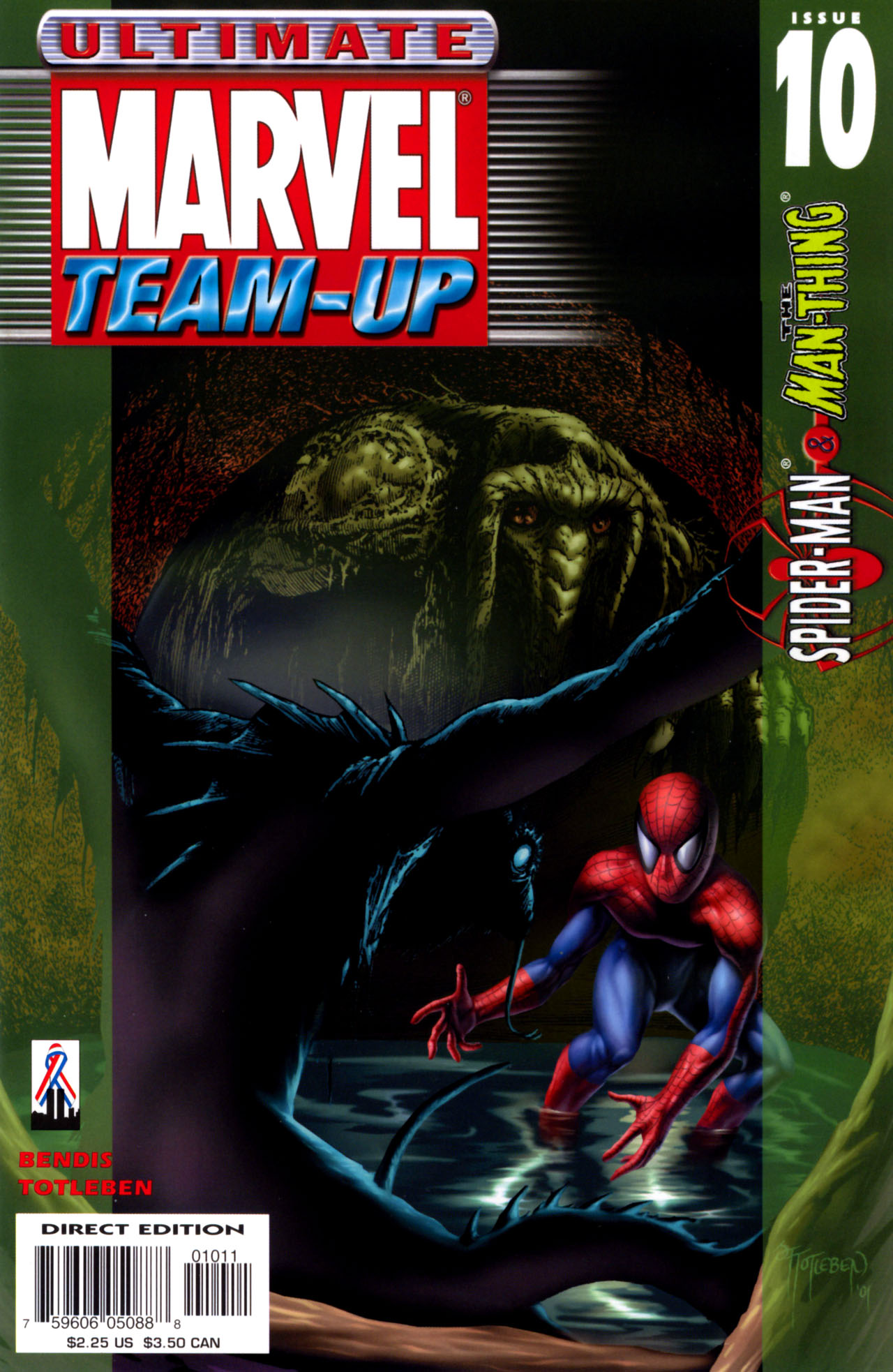 Read online Ultimate Marvel Team-Up comic -  Issue #10 - 1
