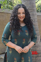 Nithya Menon promotes her latest movie in Green Tight Dress ~  Exclusive Galleries 032.jpg