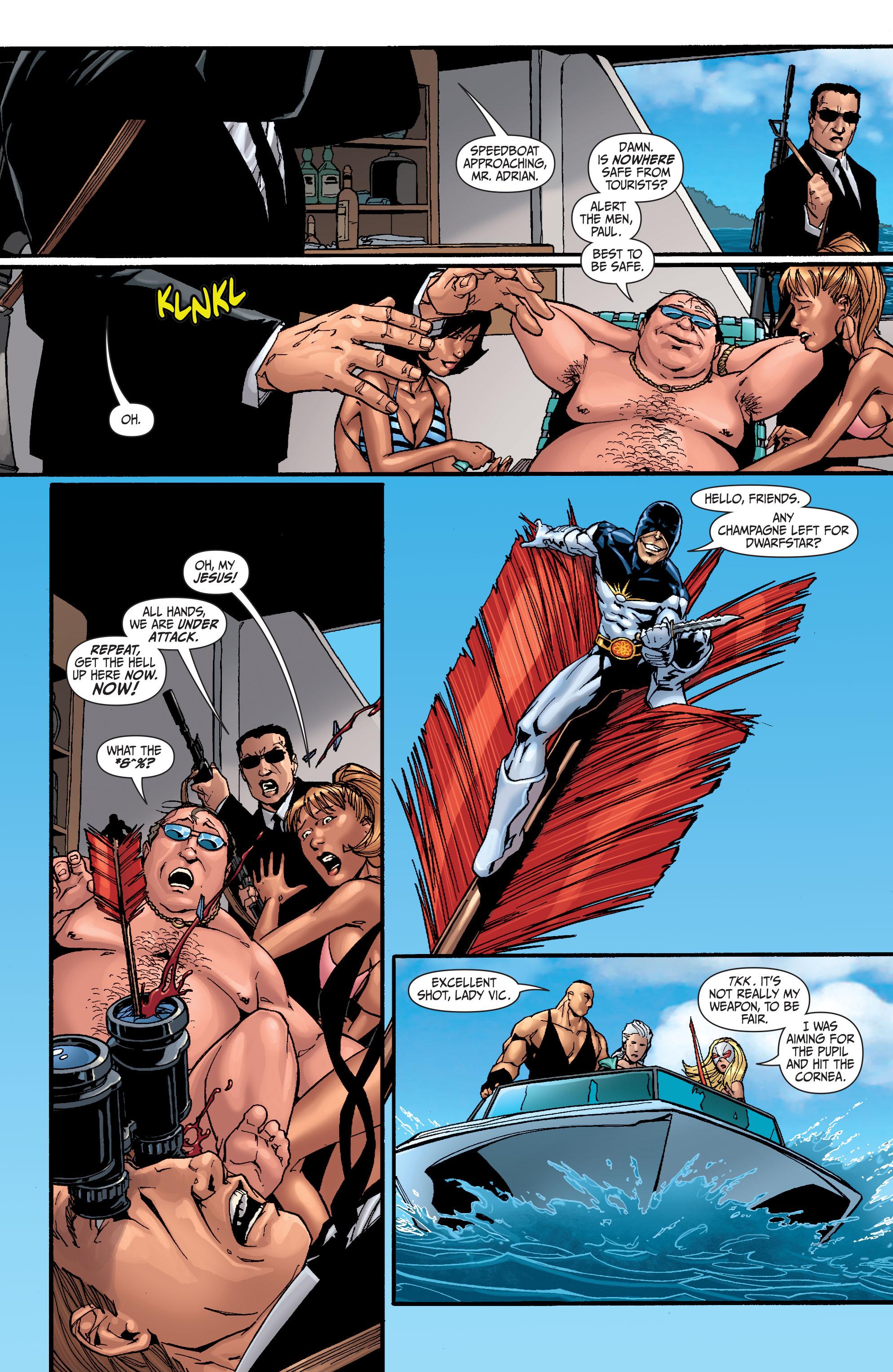 Read online Secret Six (2008) comic -  Issue #25 - 3
