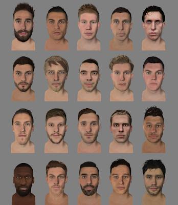 FIFA 14 Facepack vol 12 by Pillowbiter