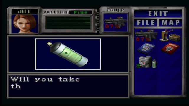 Resident Evil 3: Nemesis - PSX - Captura 4