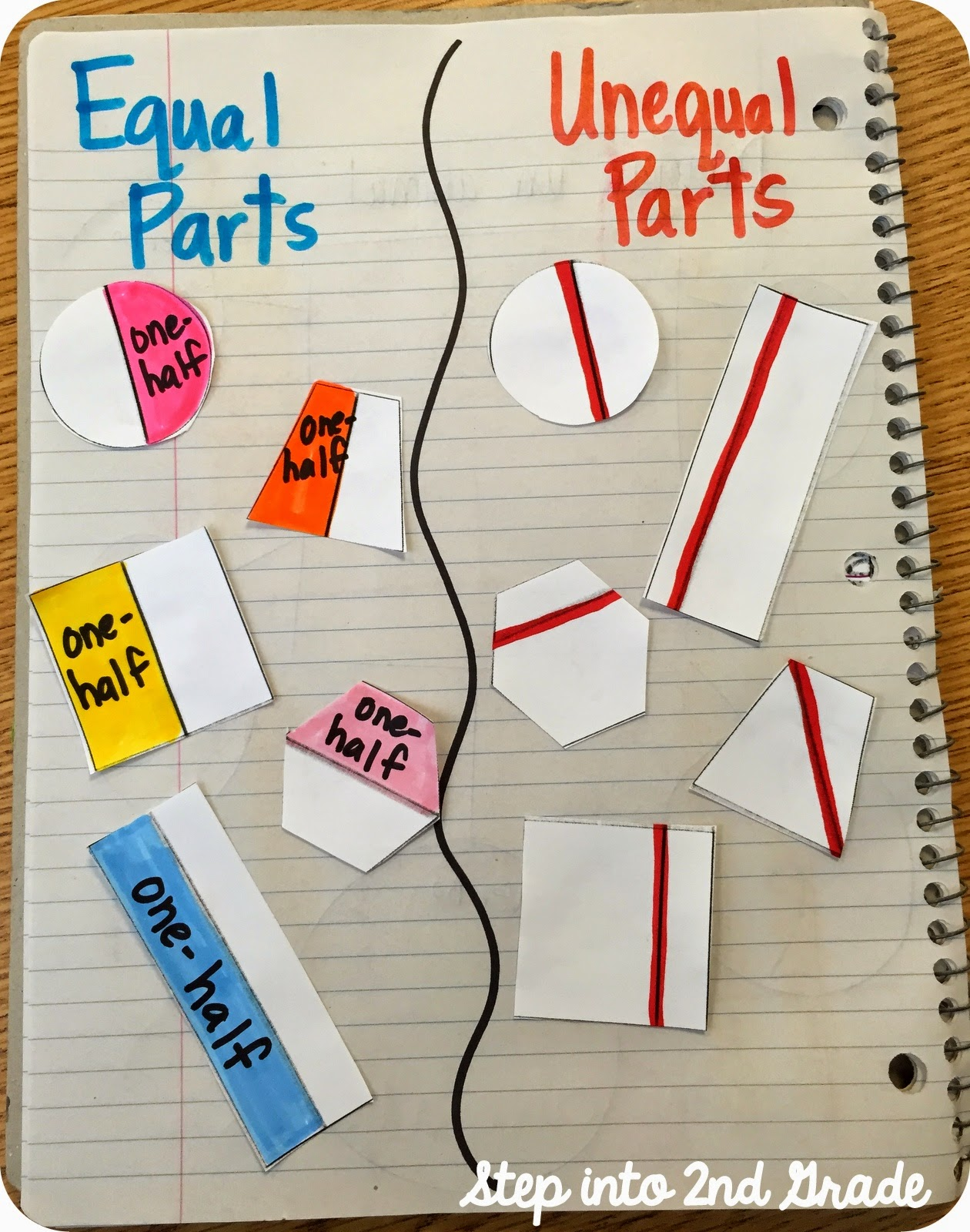 Step Into 2nd Grade With Mrs Lemons New Fraction Fun