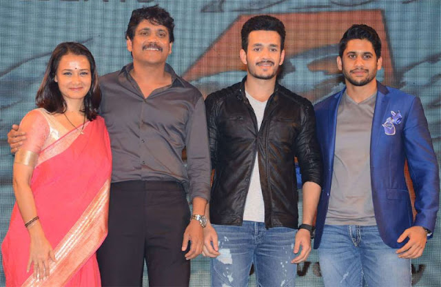 Akhil Akkineni Family Photo