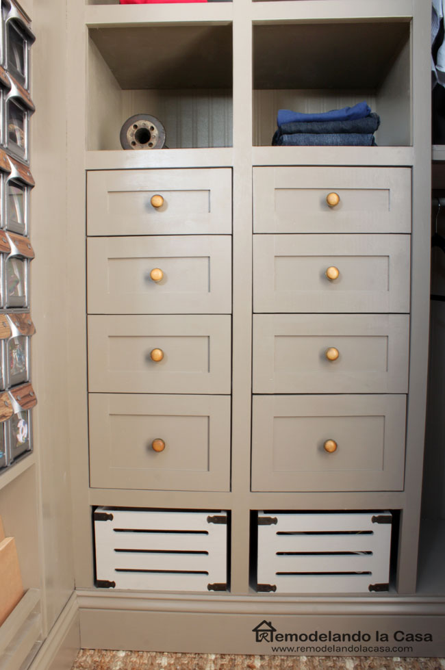 how to make and install drawers in closet