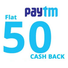 Paytm – Get Rs 50 Cashback on Rs 50 Recharge or Bill payment (New users)