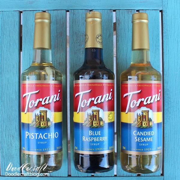 Red White Blue Summer Slush Drink Recipe with Torani Syrup