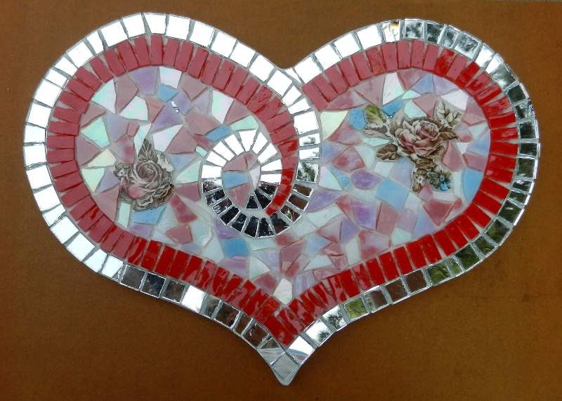 Joooles Design Mosaic Adventures Hearts Hearts And More