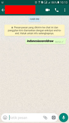 teks whatsapp menjadi tebal miring coret