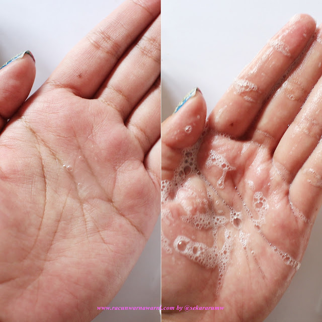 Swatch Dan Tekstur Sabun Cuci Muka