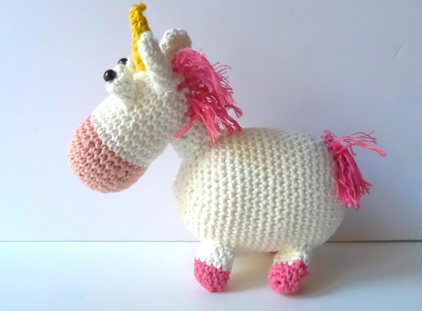 Amigurumi Unicornio Mi Villano Favorito : UNICORNIO DE GRU, MI VILLANO FAVORITO