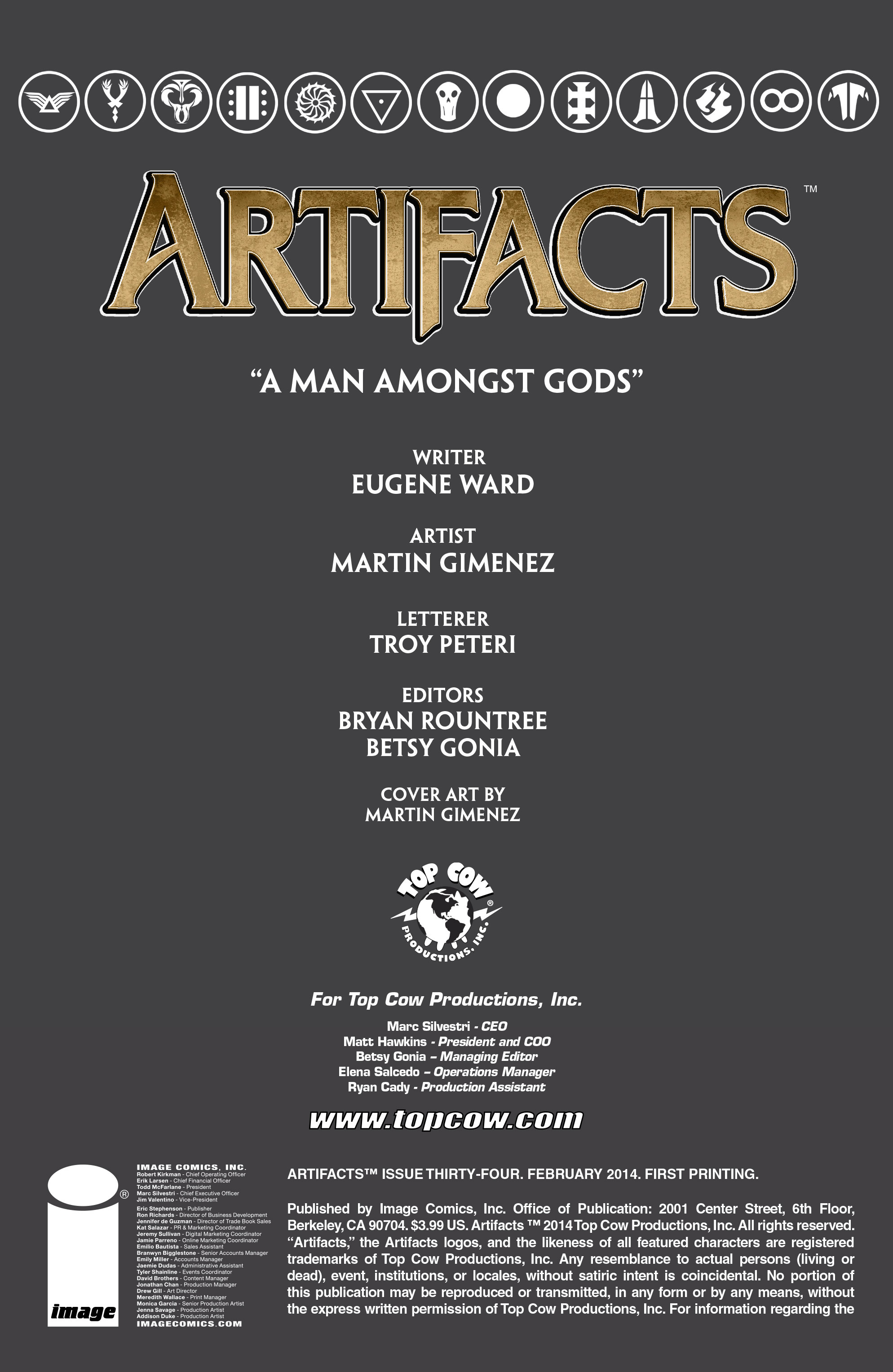Read online Artifacts comic -  Issue #34 - 3