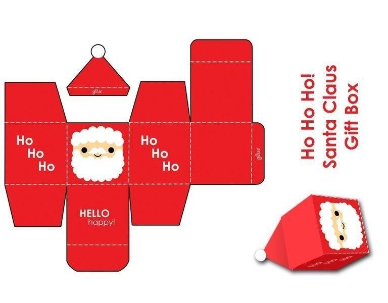 Moldes De Caixinhas Para Lembrancinhas De Natal Para Imprimir So