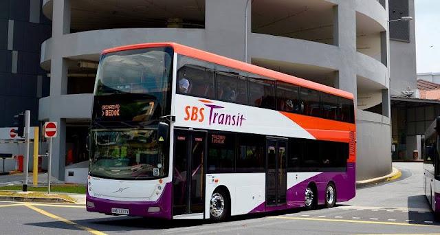 Đi Xe buýt tại Singapore