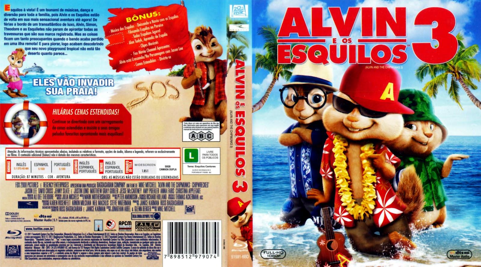 world capas alvin and the chipmunks 3 alvin e os esquilos 3