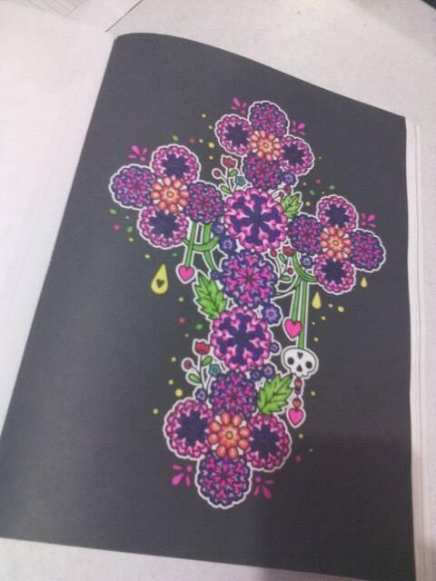 Páginas infinitas: #Coloreanding (Día de muertos) - Malacara & Gale