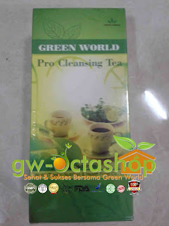 Green World Intestine Cleansing Tea / Pro-Cleansing Tea